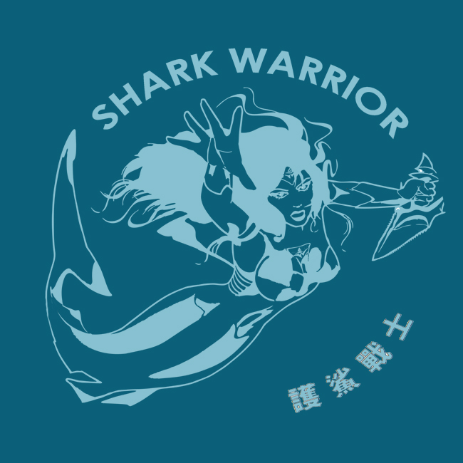 Lesley Rochat - Shark Warrior