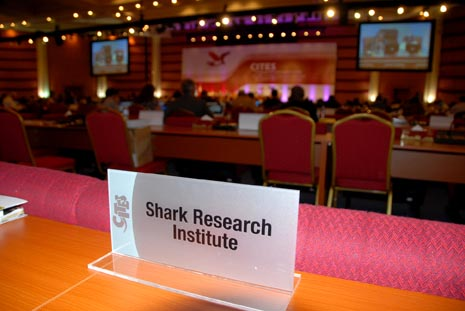 Shark Research Institute Comments on CITES