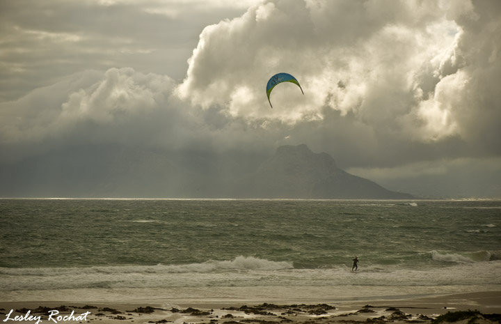 Lesley Rochat Photography - Kite Surfer