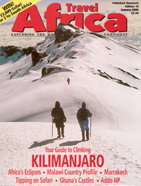 Travel Africa Magazine - Publications by Lesley Rochat