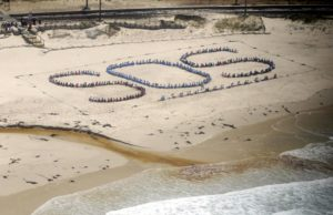 SOS formation, Clovelly Beach. Photo by Michael Walker