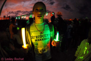 AfriOceans Warriors Participate in Earth Hour 2010