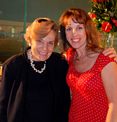 Lesley Rochat meeting Dr Sylvia Earle