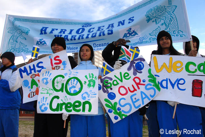 AfriOceans Warriors Score Green Goals for the Oceans