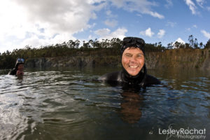 Lesley Rochat Photography - Freediving with Trevor Hutton