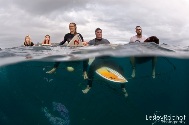 Lesley Rochat Photography - Anti shark net ceremony