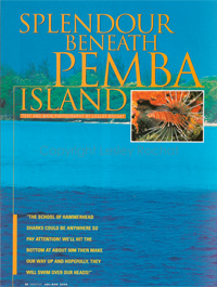 Spendour beneath Pemba - By Lesley Rochat