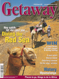 Getaway Magazine - Publications by Lesley Rochat