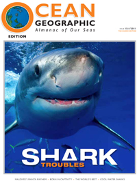 Ocean Geographic Magazine - Publications by Lesley Rochat
